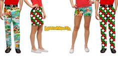 Golf News: Loudmouth New Arrivals - A Holiday Line