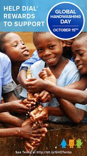 Global Handwashing Day is October 15th! Find out how YOU can help!