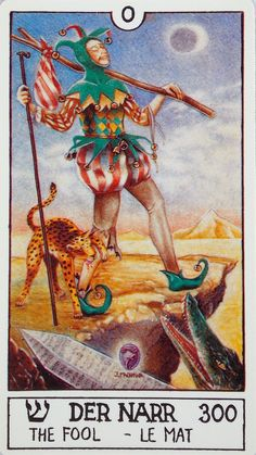 The Eclectic Tarot is a 78-card Austrian deck, published in 1986( 120 x 65 mm)  by  PIATNIK WIEN.