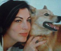 Ava Gardner and her dog