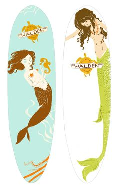 Walden surfboards-- getting the one on the left tomorrow!!! So stoked!