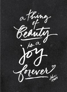 Forever Beauty by Jeanetta Gonzales for Minted.com's People's most beautiful quotes contest.