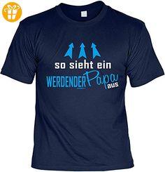 Papa/Väter-Spaß/Fun-Shirt/Rubrik lustige Sprüche: so sieht ein werdender Papa aus geniales Geschenk (*Partner-Link)