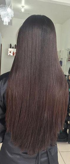 Beautiful Long Hair, Gorgeous Hair, Beautiful Women, Indian Long Hair Braid, Braids For Long Hair, Long Dark Hair, Silk Hair, Pretty Hairstyles, Hair Goals