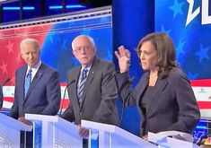 Kamala Harris surges after debate, but her target Joe Biden stays steady on top in latest poll Watching The Debate, Cory Booker, Marianne Williamson, Kamala Harris, Insurgent, Working Class, Political News, Joe Biden