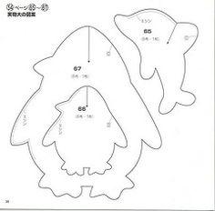 golfinho1 (Monte de Linhas) Tags: feltro malas moldes aplicaces tralhasemoldes
