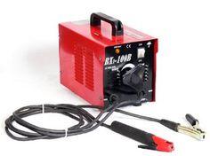Pro-Grade Ultra-Portable 100-Amp Electric Arc Welder - 110V