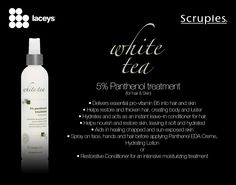 5% Pathenol treatment is in the White Tea Luxury Collection.  Scruples Professional Hair Care is at Laceys Hair and Beauty Supplies!  https://www.facebook.com/LaceysTeam