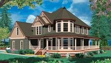 This site has house plans for modern Victorian homes. Great ideas here.