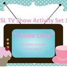 This set includes 4 episode correlated activities from the first season of