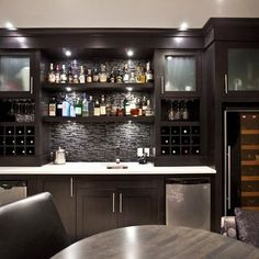 Basement Bar Design Ideas, Pictures, Remodel, and Decor - page 14