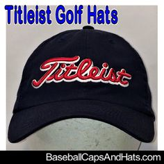 4a732fd9b63 Titleist Golf Hats - Check out our selection of Titleist Golf Hats  available in our eBay