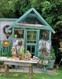 Garden Shed Decorating Ideas Endecor