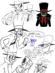 Villainous // My turn to make stupid Black Hat art
