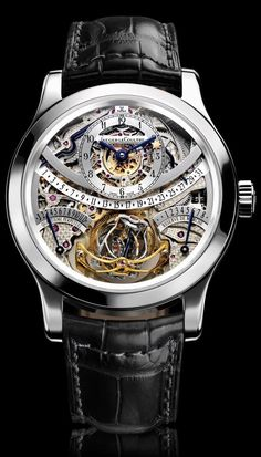 The Jaeger LeCoultre Hybris Mechanica Gyrotourbillon Watch. Great