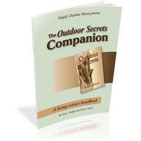 The Outdoor Secrets Companion--homeschool living science handbook