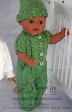 Прекрасные узоры для вязания куклы одежды