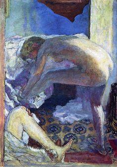 Pierre Bonnard - Le Grand Nu Bleu - 1924