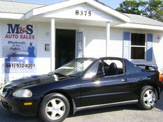 1994 Honda Civic del Sol. I owned a 1993. I cried so hard when it finally gave up. Over 200,000 miles.