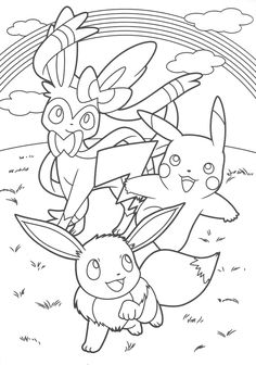 Pokemon Scans From PacificPikachus Collection Photo Coloring Pages Horse