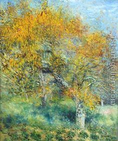 Pierre Auguste Renoir:Le Poirier