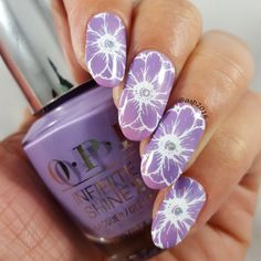 This radial gradient mani by Anya is electrifying! She created this show-stopper using her gifted OPI Infinite Shine 2 Nail Lacquer in Do You Lilac It? Enjoy gel-like wear and shine for #11DaysStrong with the new OPI Infinite Shine ProStay Primer and Gloss. Check out this video tutorial to snap up this beauty.  Products were gifted as part of the Preen.Me VIP program together with OPI.