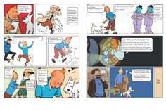 Tintin party invitation. The same story was used in the cake.
