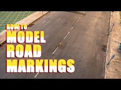 How to Model Road Markings