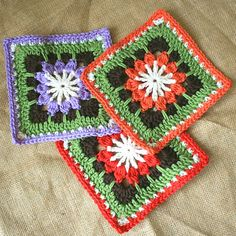 Ravelry: Forest Flower Square pattern by Leonie Morgan