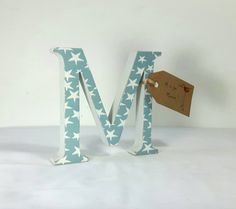 Hey, I found this really awesome Etsy listing at https://www.etsy.com/uk/listing/279145748/baby-blue-letters-new-baby-gift-wooden