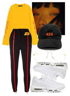"""Untitled #670"" by chandele ❤ liked on Polyvore featuring Au Jour Le Jour and NIKE"