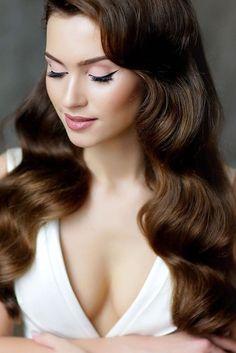vintage wedding hairstyles waves geller makeupstyle