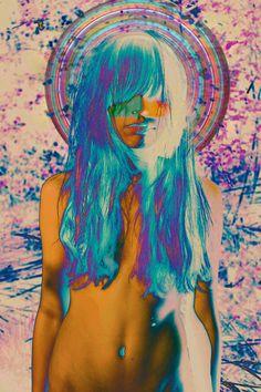 Could be a cool Jugendstil Steam Punk, Flower Power, Eugenia Loli, Acid Trip, Psy Art, Kawaii, Illustrations, Psychedelic Art, Oeuvre D'art