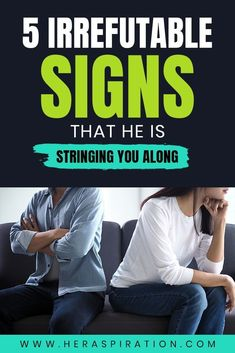 Some men can be really good at hiding the true intentions behind their words and actions. If you suspect someone is stringing you along, here are 5 irrefutable signs for it. Click to keep reading. Best Relationship Advice, Marriage Tips, Relationship Problems, Dating Advice, Toxic Relationships, Healthy Relationships, Signs He Loves You, What Men Want, Love Advice