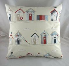 "Beach Huts Cushion 17"" by Evans Lichfield, http://www.amazon.co.uk/dp/B00C893XIC/ref=cm_sw_r_pi_dp_55K6sb1JNTDN6"