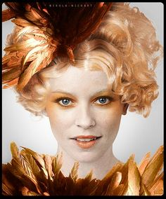 Effie in Catching Fire SO EXCITED!!!