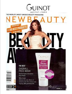 New Beauty Magazine - Guinot - Professional skin care products and skin treatments
