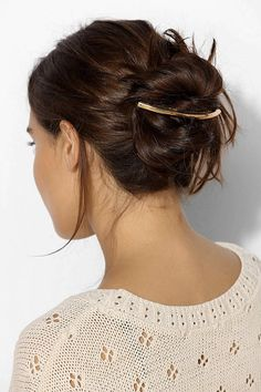 The prettiest way to wear your hair when you're feeling a little too lazy.