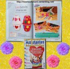 Création pour le magazine assistantes maternelles N°113