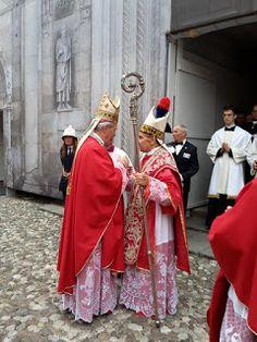 Fidenza: Il cardinale Carlo Caffarra in Cattedrale