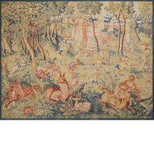 "Flemish Tapestry 1620 ""Fantastic Animals"""
