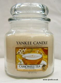 Yankee Candle Camomile Tea Housewarmer Jar!! Never have too many Yankee candles!