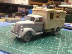 イメージ1 - フォード.G917T の進捗状況の画像 - モモンガモデルのブログ - Yahoo!ブログ