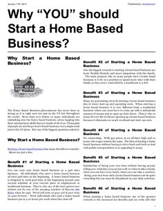 Start Home-Based Business 6 Steps to 6 Figures Online. Get your FREE Guide Now!