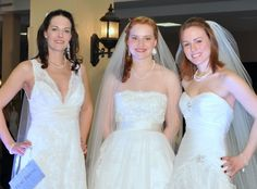 Wedding show brides - Cynthea Wight Hausman is a professional makeup artist and day spa owner in Burlington Vermont. More on Facebook and her website CyntheaSpa.com