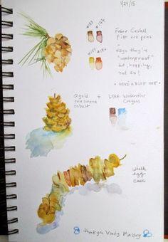 laura's watercolors -a blog