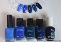 Синие лаки Chanel: Vibrato, Fortissimo, Magic