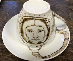 Astronautenbord mét verrrassing