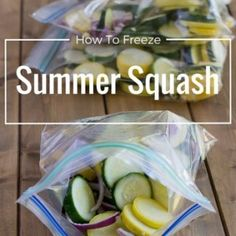 When you take advantage of the lower prices and buy squash in bulk you need to preserve the squash so it doesn't go to waste. How to Freeze Squash