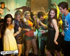 Xenia Goodwin, Alicia Banit, Dena Kaplan, Issi Durant, Tom Green and Thomas Lacey in Dance Academy